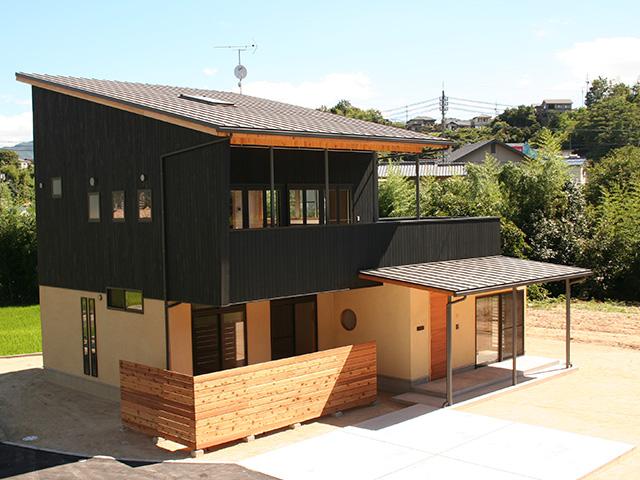 愛する自然の恵みを堪能する家