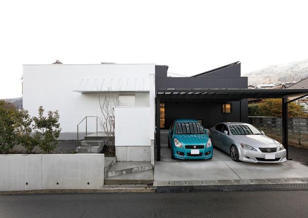 機能をデザインとして魅せる家